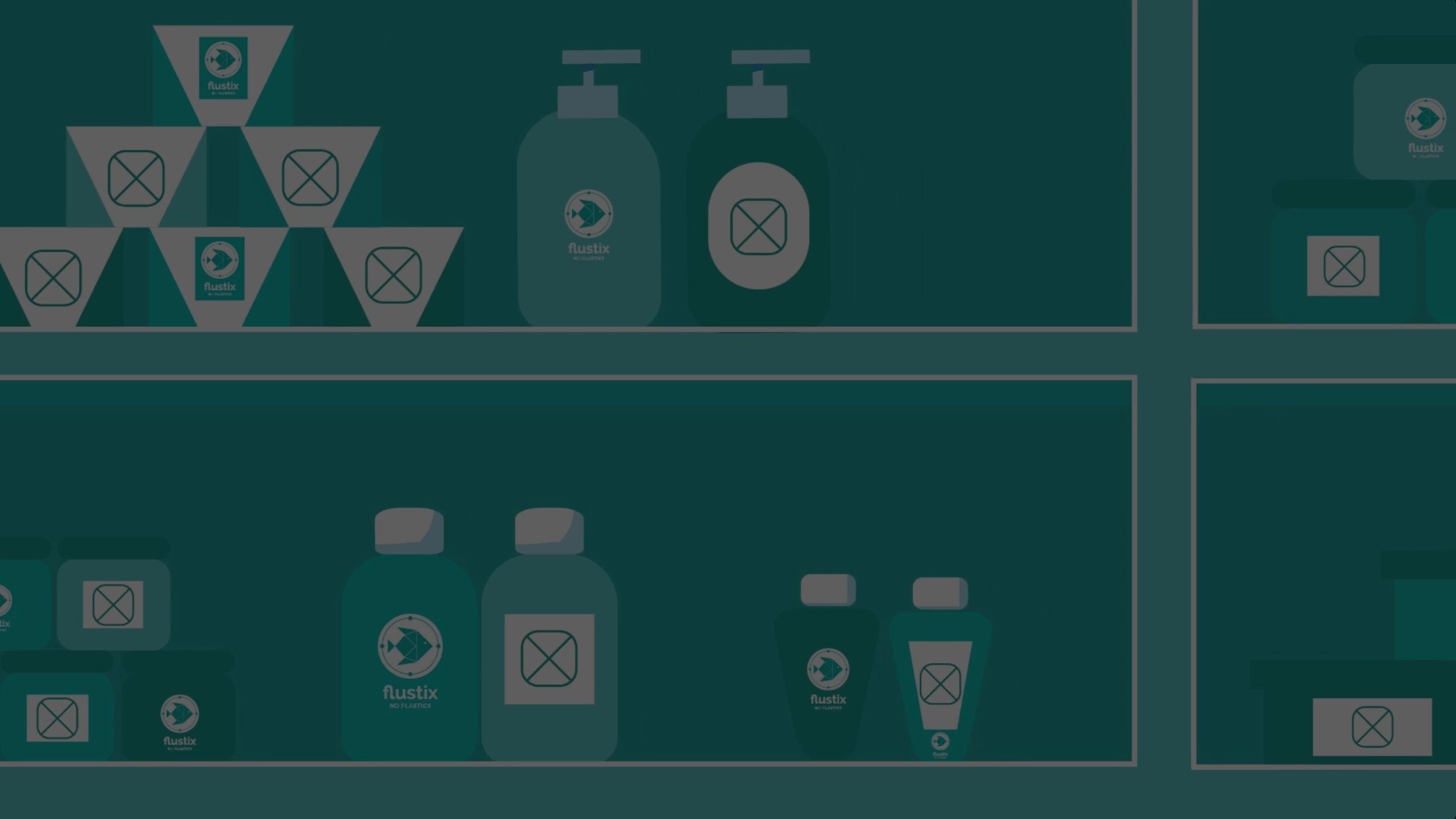 What is a plastic-free label - FLUSTIX