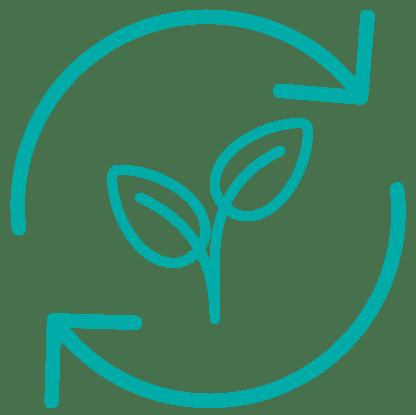 Icon Nachhaltigkeit für nachhaltige Unternehmen