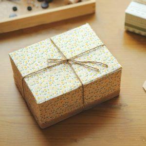 Geschenk plastikfrei verpackt