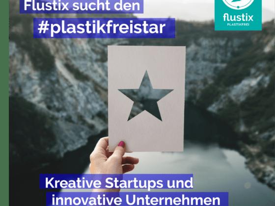 Titelbild: Flustix sucht den plastikfrei-Star im Plastic Free July