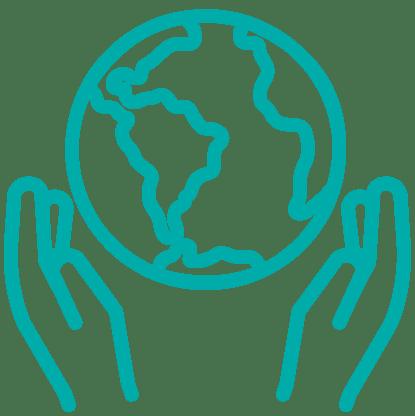 Icon zu Umweltgerecht, zum Thema Umwelt schützen