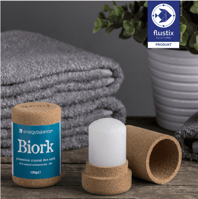 Biork plastikfreies Produkt Flustix-Siegel