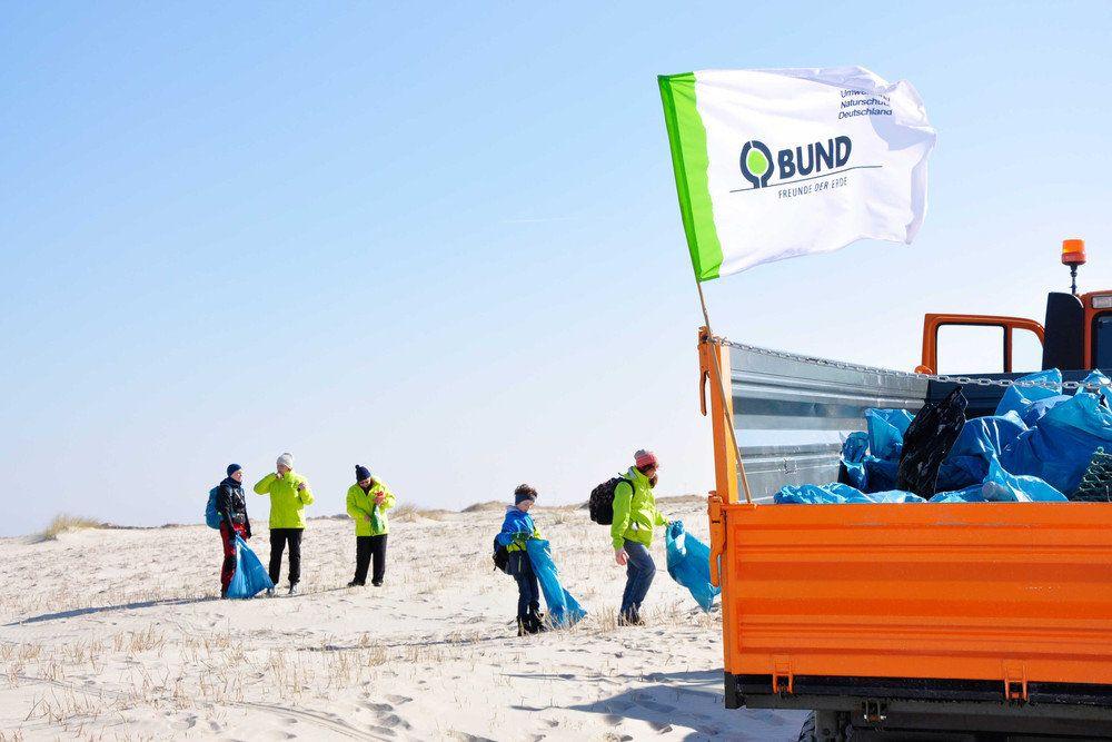 BUND - Müll Sammelaktion