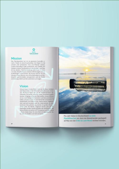 das ebook als Informationsmaterial zum plastikfrei-Siegel