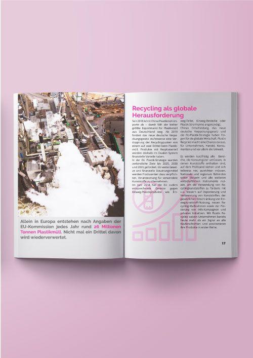 Abbildung des kostenlosen ebooks als Internationalsmaterial zum Flustix Recycled-Siegek