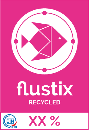 Flustix Recycled-Siegel