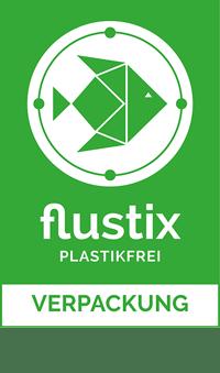 Flustix Siegel Plastikfrei Verpackung